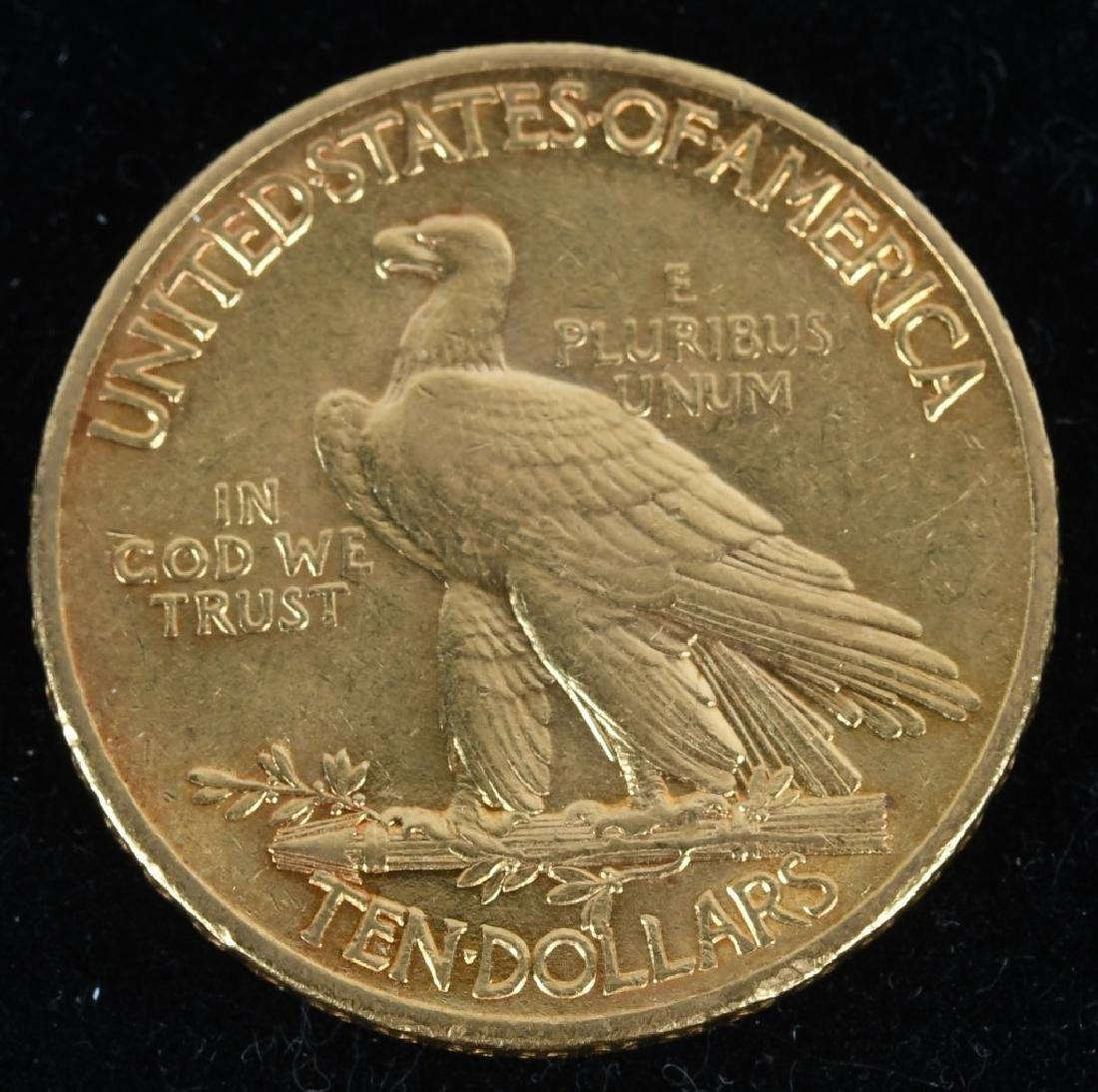 1909 $10 Indian Gold Eagle - 2