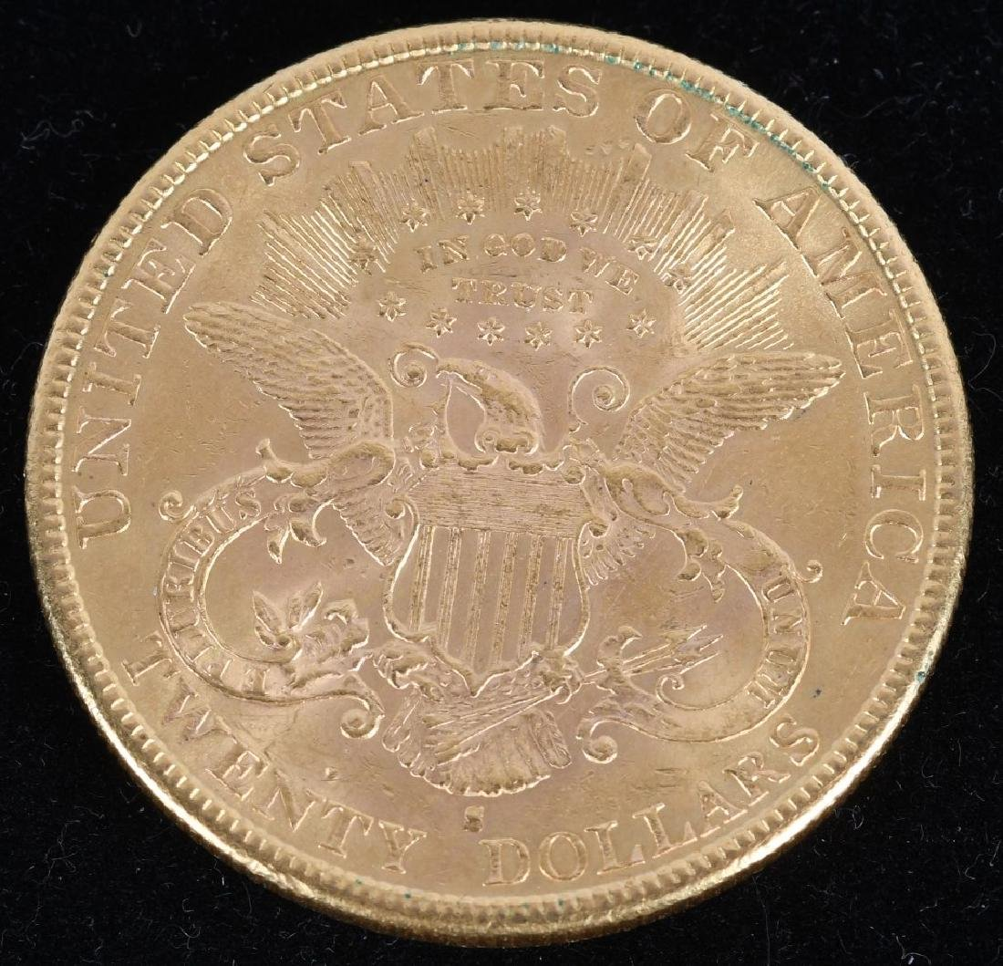 1893-S $20 Liberty Gold Double Eagle - 2