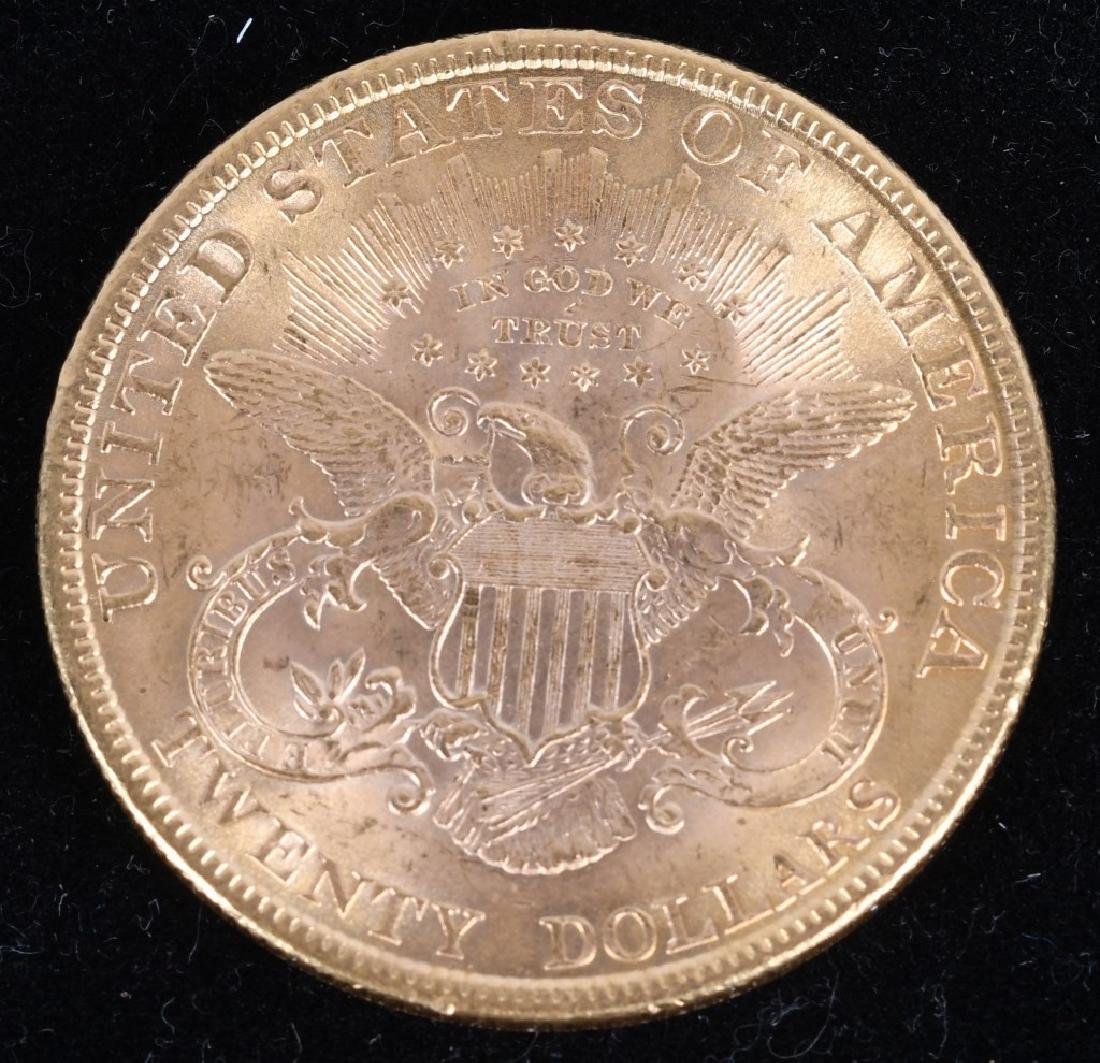 1896 $20 Liberty Gold Double Eagle - 2