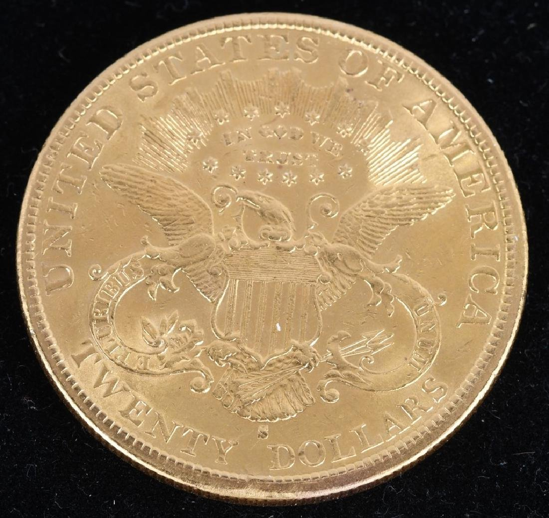 1897-S $20 Liberty Gold Double Eagle - 2