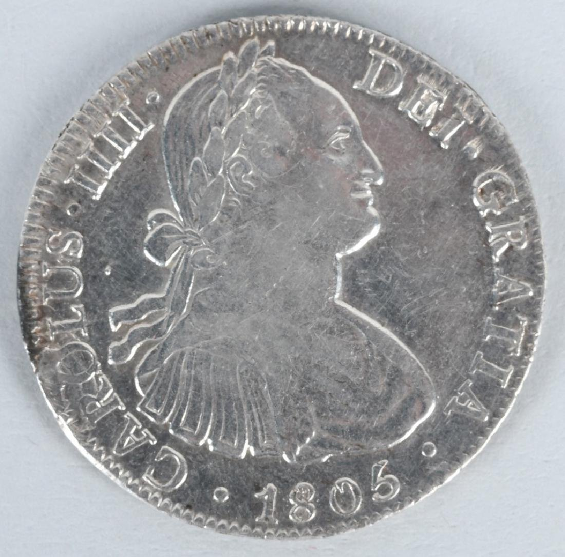 1805 SILVER 8 REALES COIN