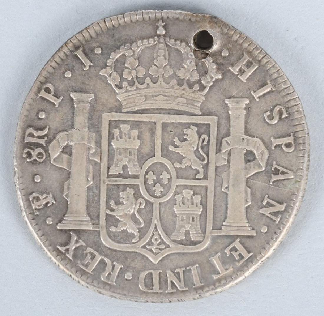 1824 SILVER 8 REALES COIN - 2