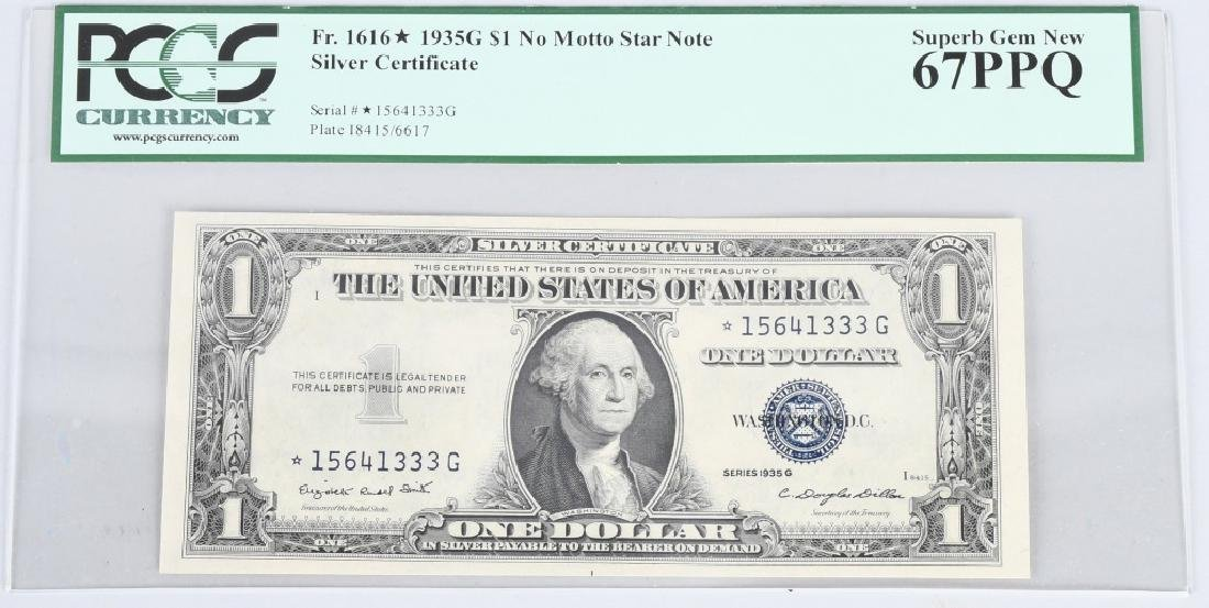 Fr. 1616* 1935G NO MOTTO STAR NOTE PCGS 67PPQ