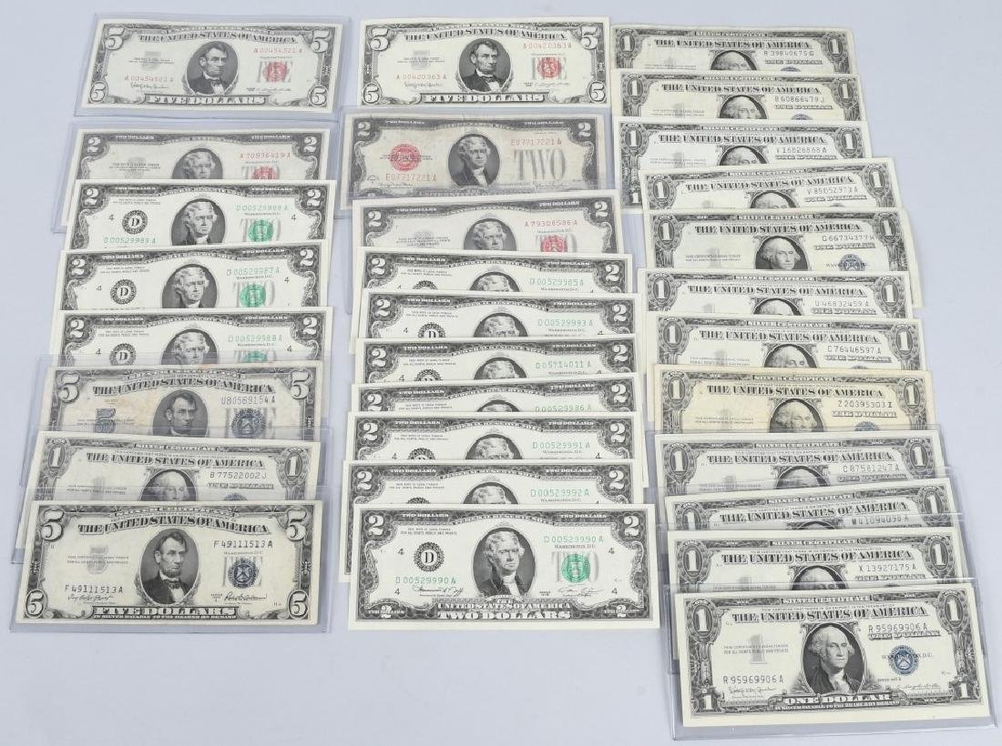 SILVER CERTIFICATES, RED SEALS, & MORE currency