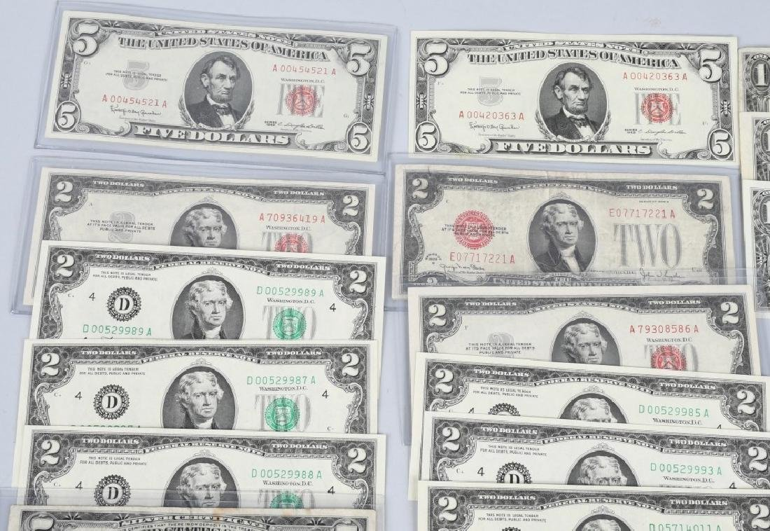 SILVER CERTIFICATES, RED SEALS, & MORE currency - 2