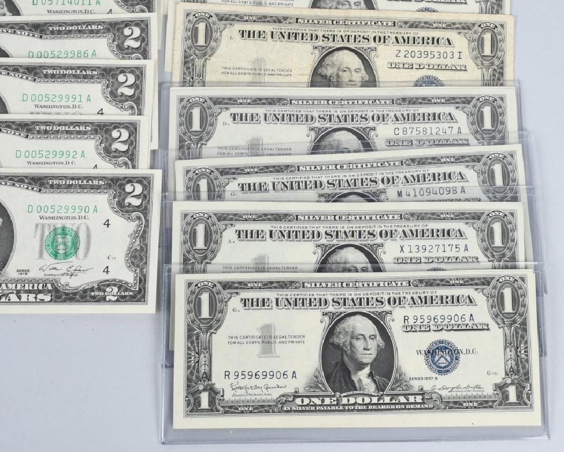 SILVER CERTIFICATES, RED SEALS, & MORE currency - 3