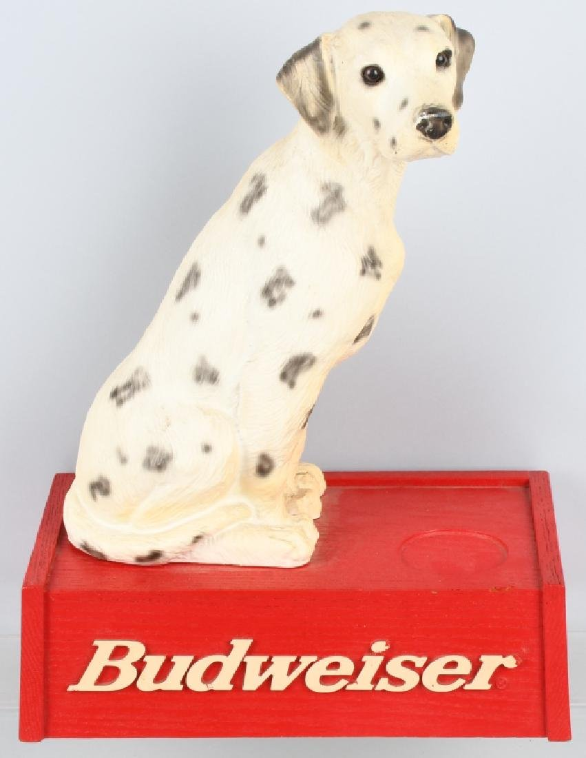 BUDWEISER DALMATIAN BEER DISPLAY