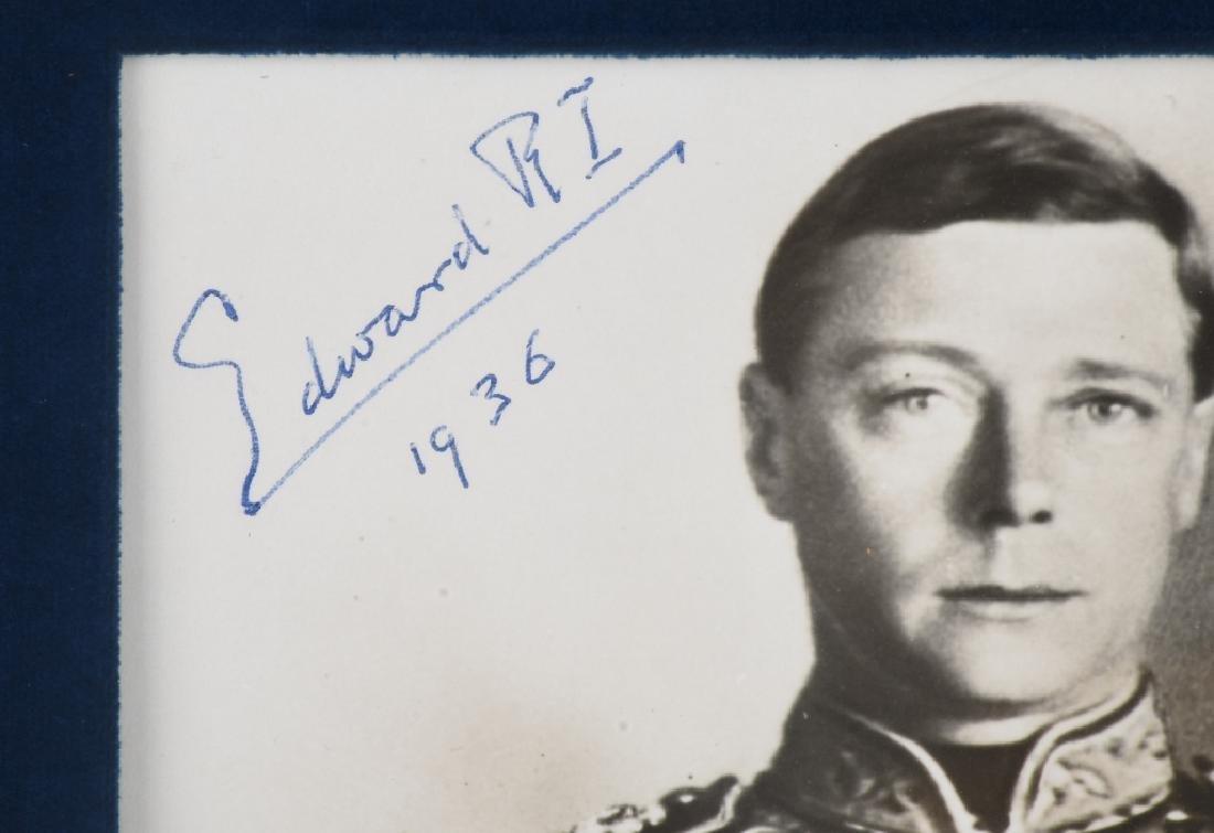 EDWARD VIII and WALLIS WINDSOR signed PHOTOS - 3