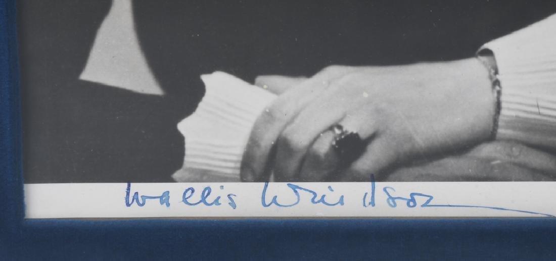 EDWARD VIII and WALLIS WINDSOR signed PHOTOS - 5