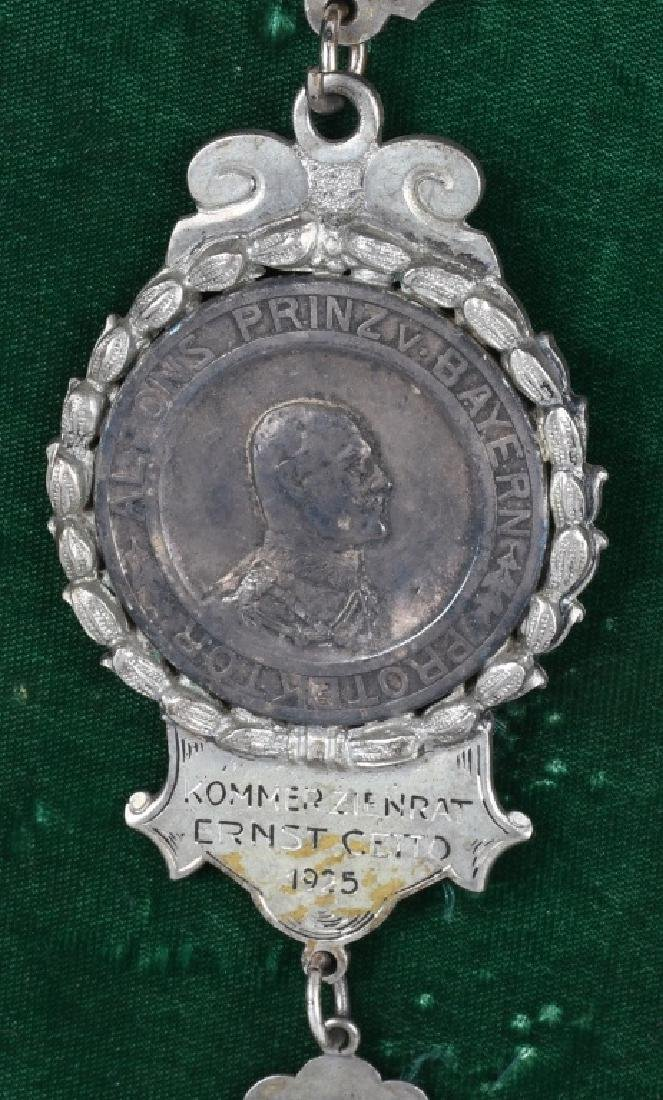 "ELABORATE GERMAN MEDAL ""DONAUHOTEL"", ERNST CETTO - 8"