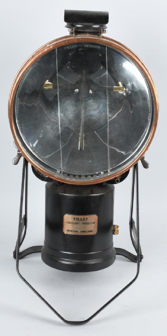 ANTIQUE TILLEY FLOODLIGHT