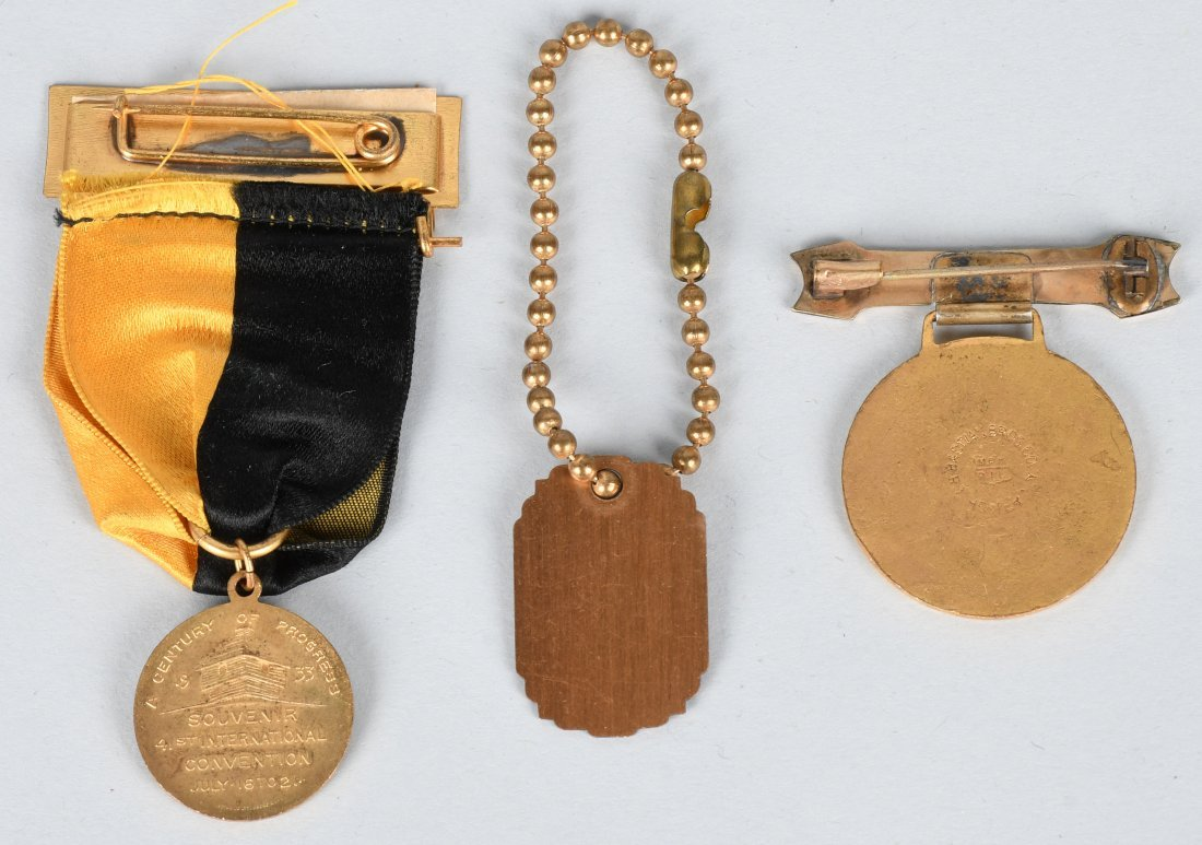 1933 WORLDS FAIR MEDALS & MORE - 4