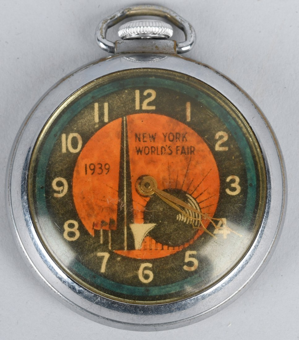1939 WORLDS FAIR POCKET WATCH