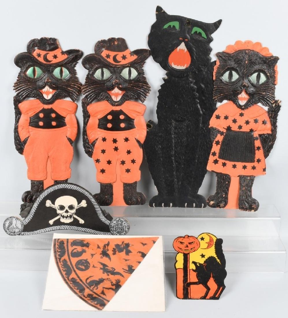 LOT OF EARLY HALLOWEEN ITEMS
