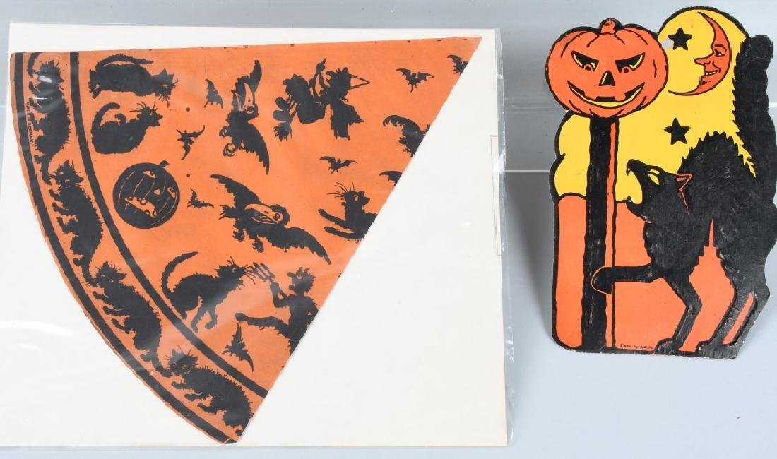 LOT OF EARLY HALLOWEEN ITEMS - 5