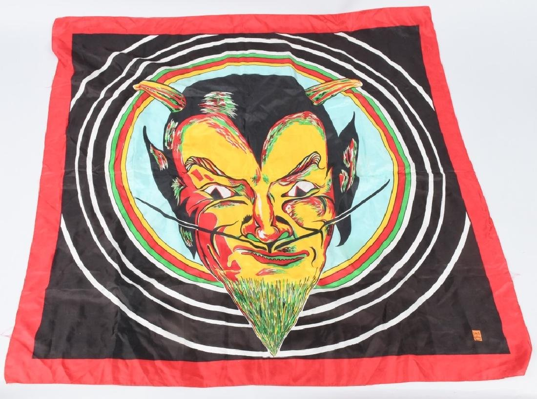 MAGICIANS DEVIL FACE SILK PANEL