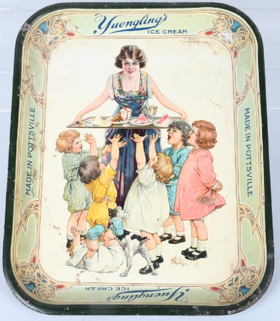 YUENGLING'S ICE CREAM SERVING TRAY