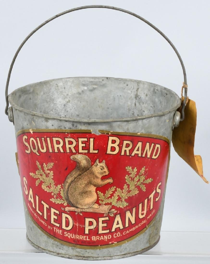 SQUIRREL BRAND SALTED PEANUTS BUCKET