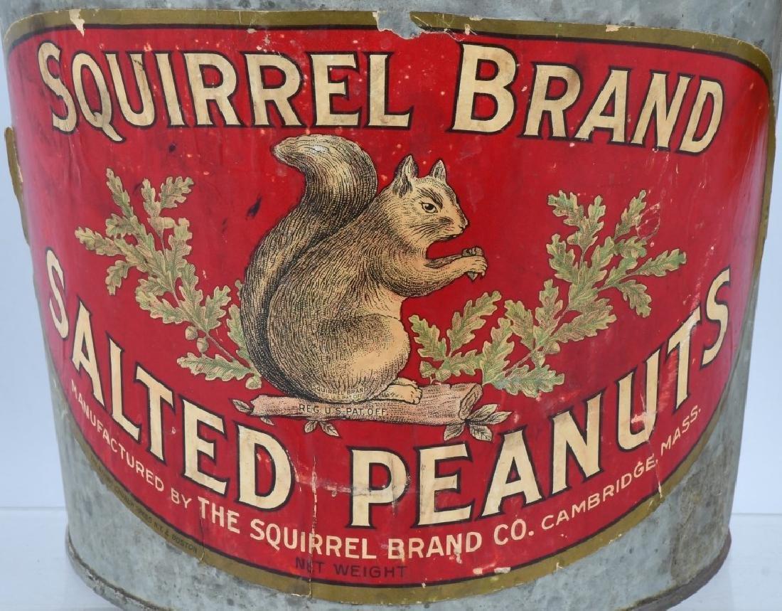 SQUIRREL BRAND SALTED PEANUTS BUCKET - 2