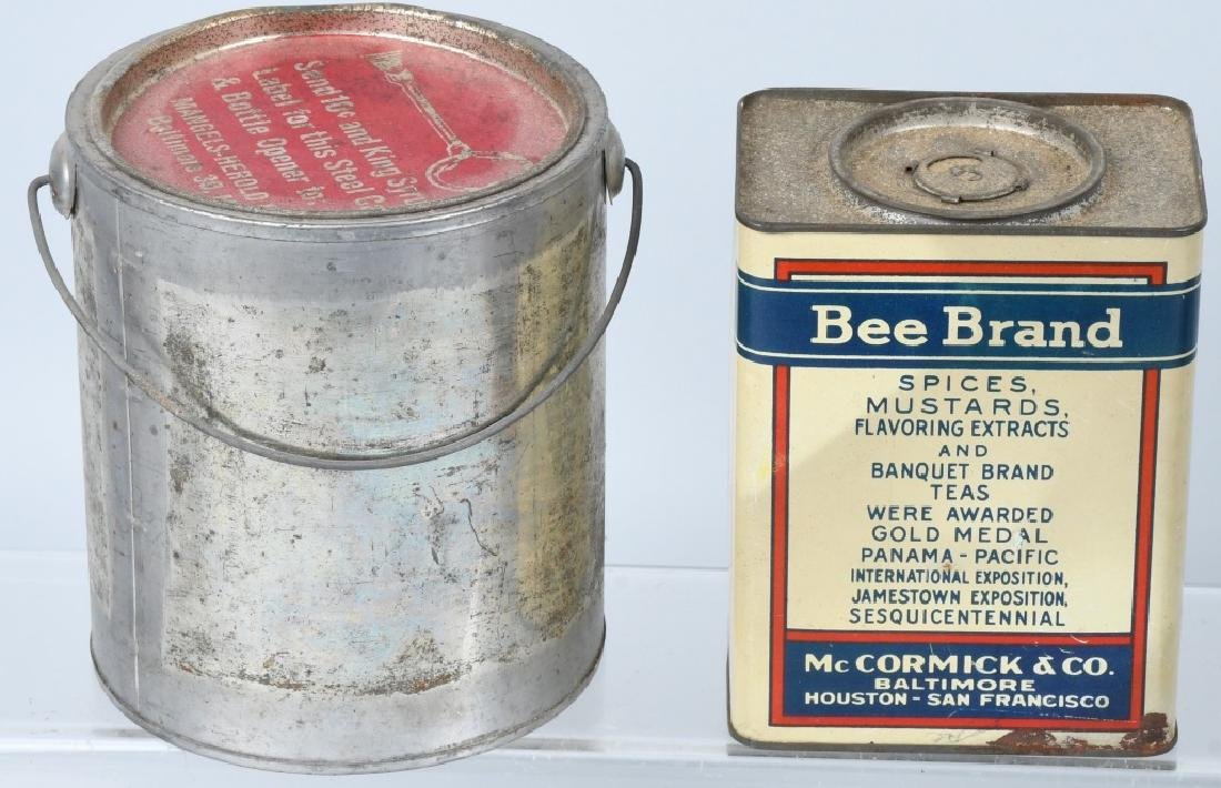 EARLY COFFEE TINS, PEPSI BOTTLE, & MORE - 3