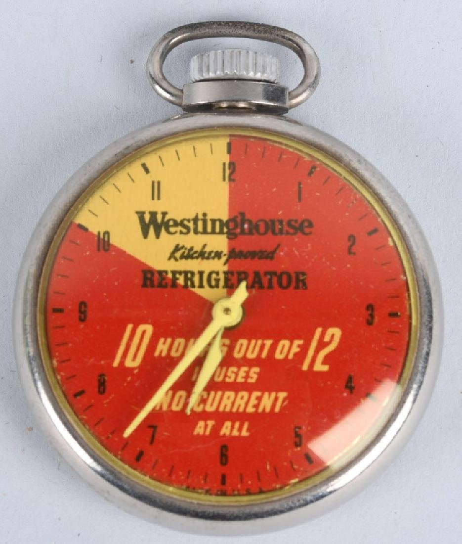 WESTINGHOUSE ADVERTISING POCKET WATCH, BOXED - 3