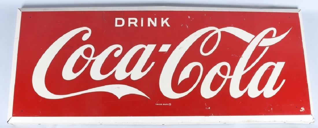 "60"" DRINK COCA COLA TIN SIGN"