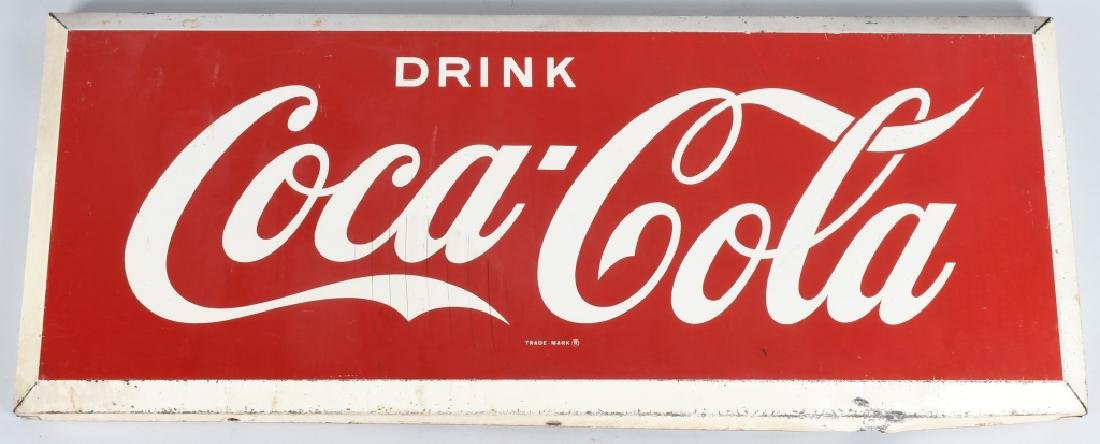 "40"" DRINK COCA COLA TIN SIGN"