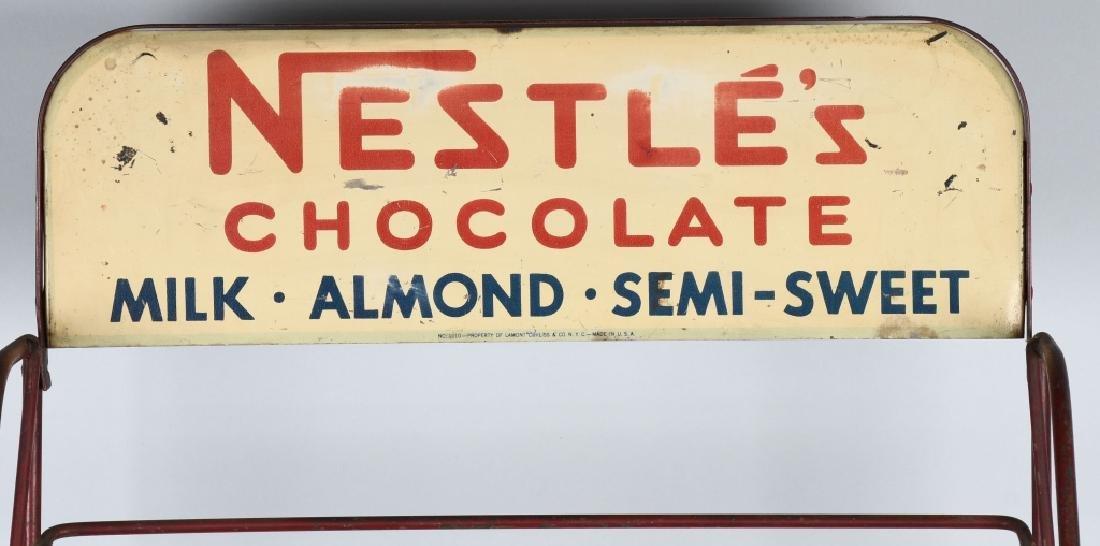 NESTLES CHOCOLATE STORE DISPLAY RACK - 2