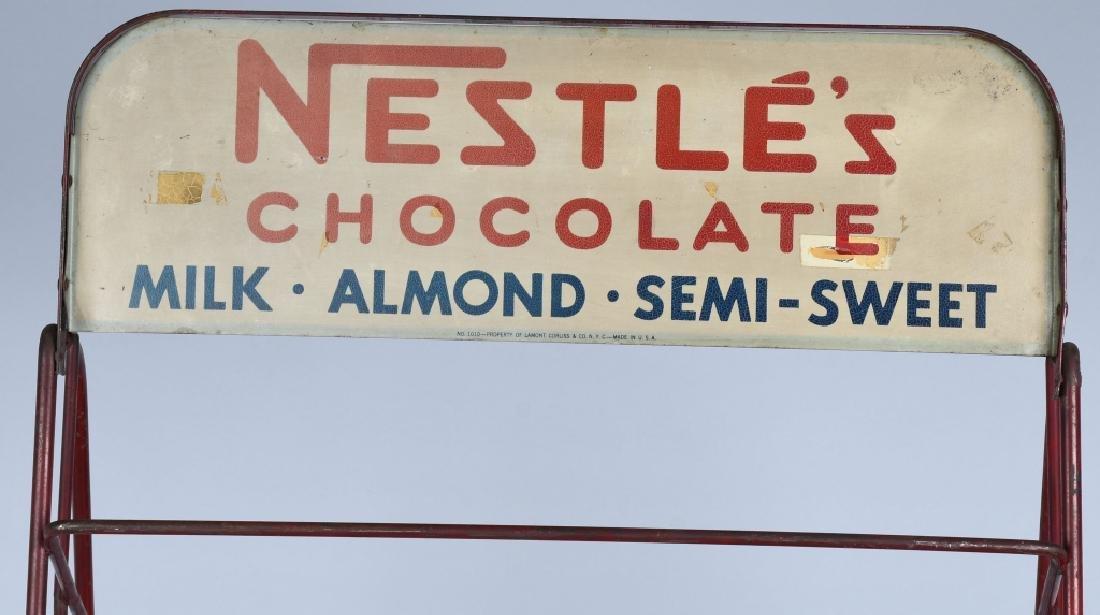 NESTLES CHOCOLATE STORE DISPLAY RACK - 6