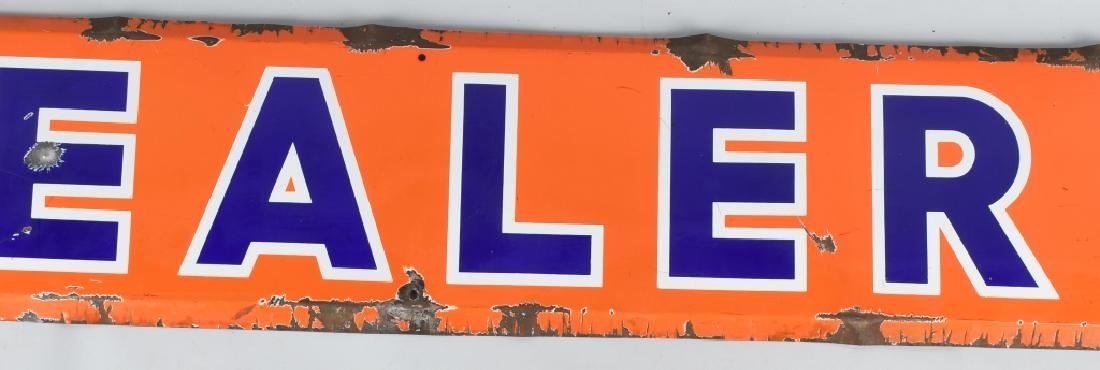 DEALER PORCELAIN SIGN - 3