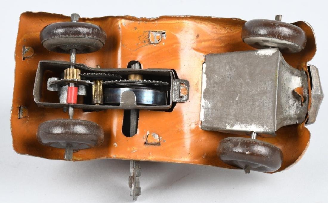 PREWAR JAPAN Tin Windup ARMOURED CAR - 5