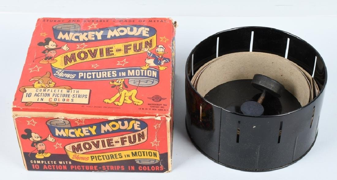 MICKEY MOUSE MOVIE FUN PICTURE IN MOTION w/ BOX