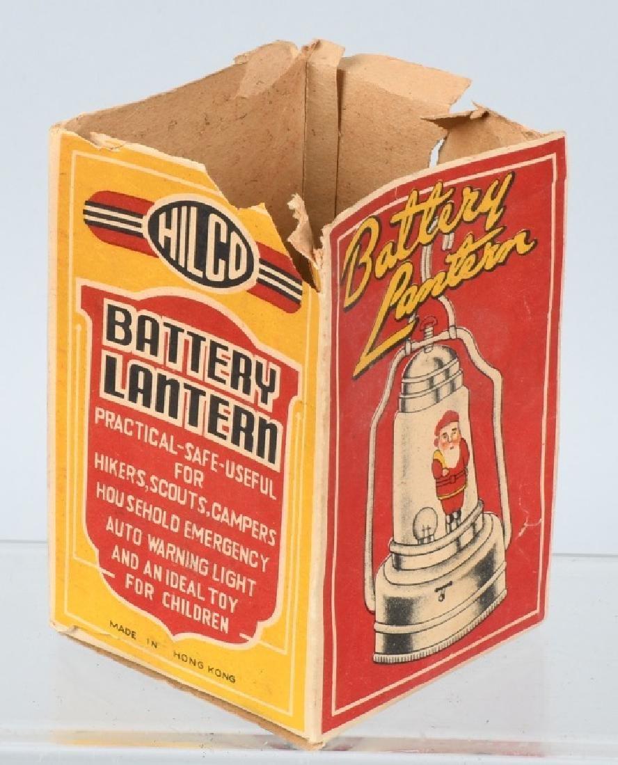 SANTA CLAUS BATTERY LANTERN w/ BOX - 4