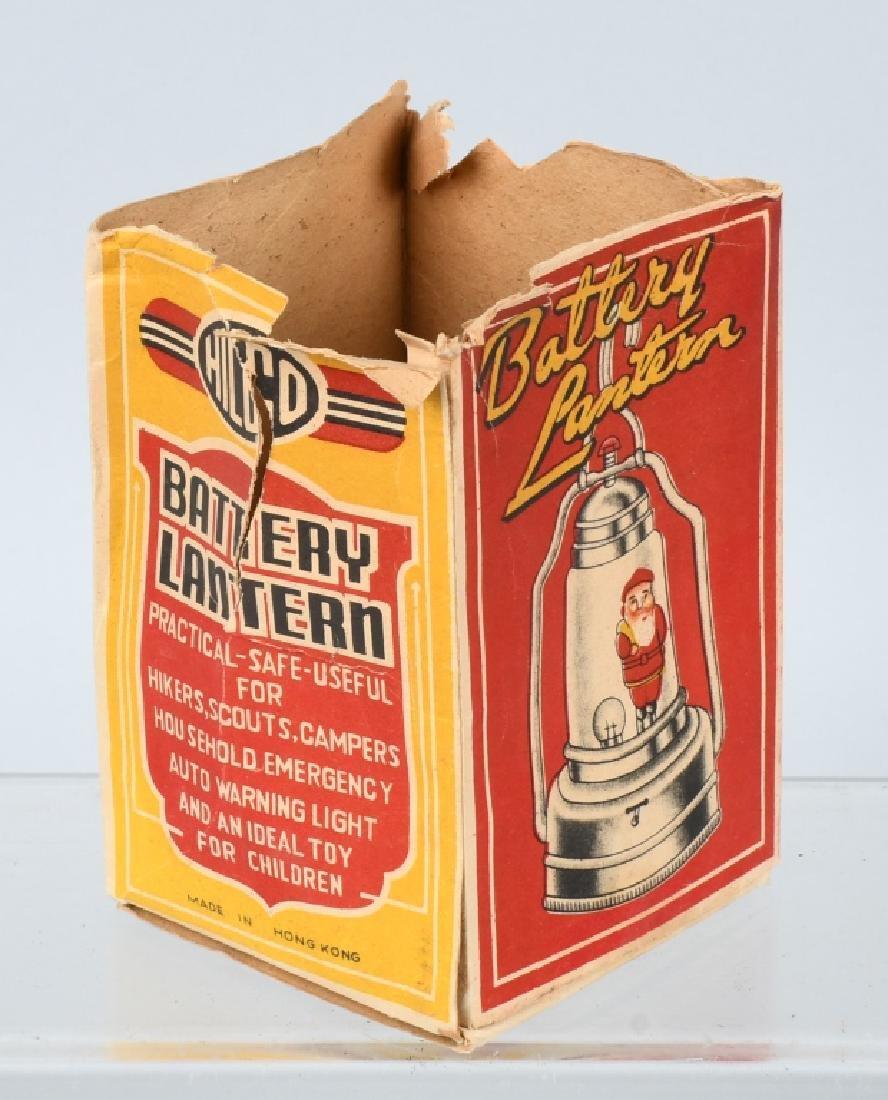 SANTA CLAUS BATTERY LANTERN w/ BOX - 5