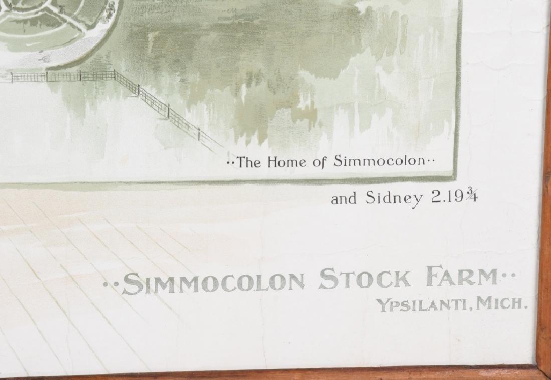 SIMMOCOLON STOCK HORSE FARM LITHO - 3
