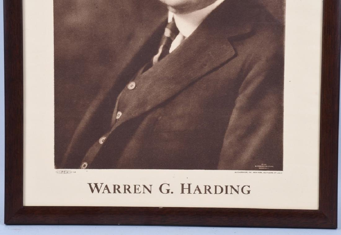 1920 WILLIAM G HARDING CAMPAIGN POSTER - 3