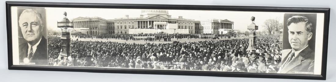 1941 ROOSEVELT & WALLACE INAUGURAL YARD LONG PIC