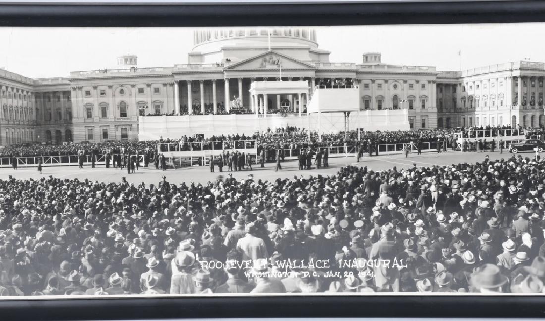1941 ROOSEVELT & WALLACE INAUGURAL YARD LONG PIC - 4