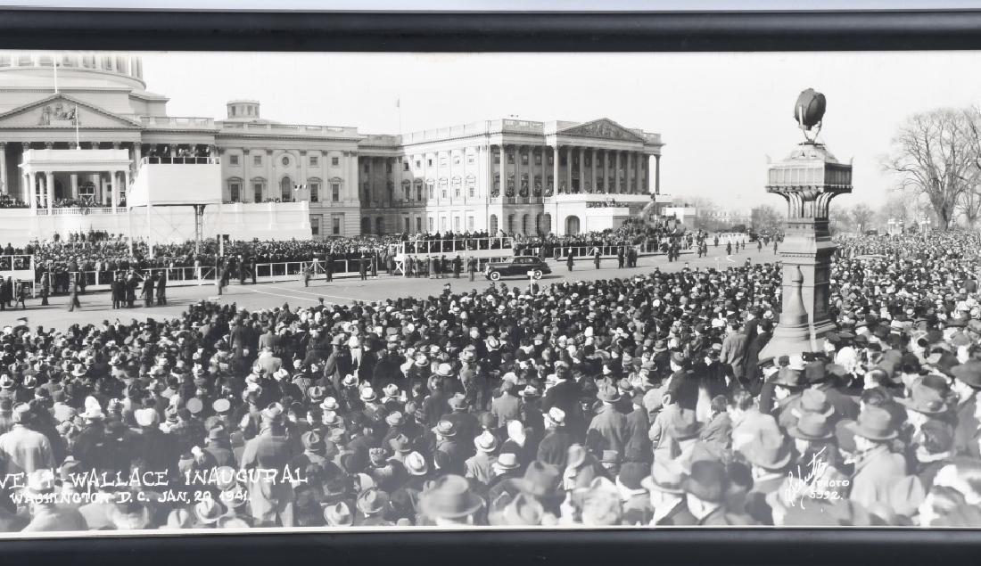 1941 ROOSEVELT & WALLACE INAUGURAL YARD LONG PIC - 5