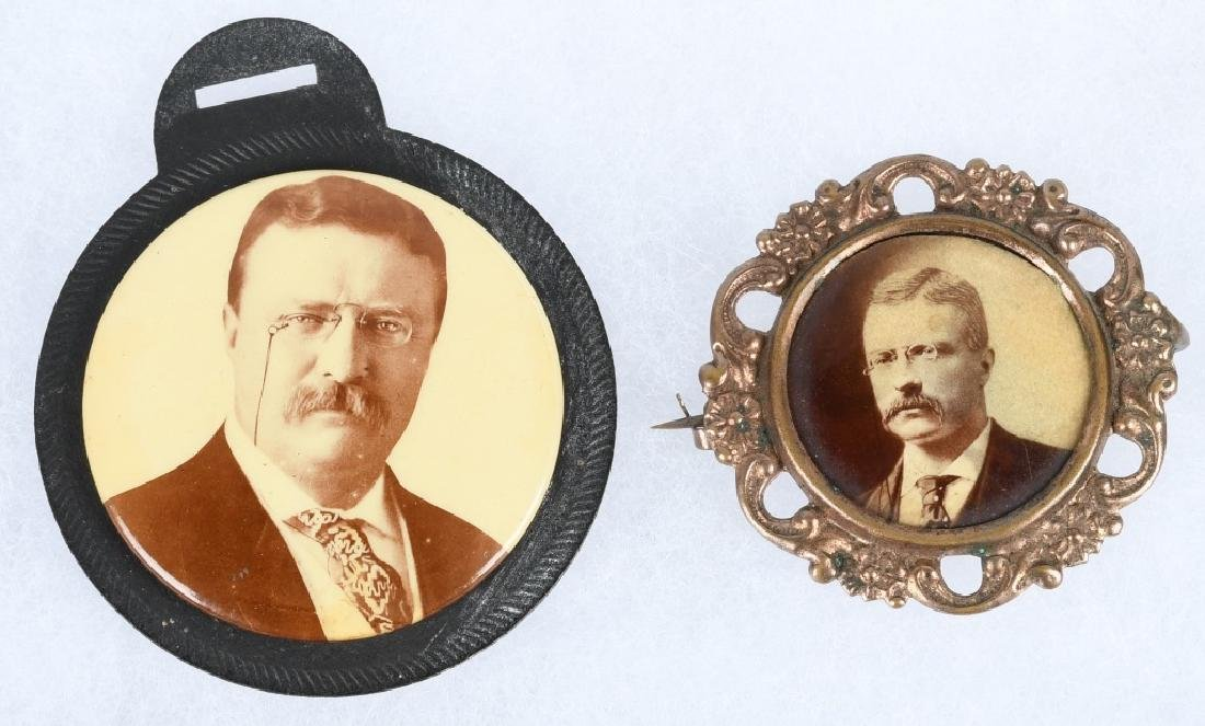 TEDDY ROOSEVELT PHOTOGRAPHIC PINS - 4