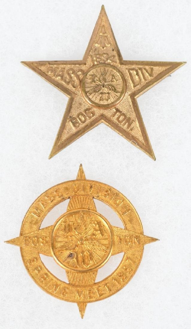 4- 1894-1897 BICYCLE BADGE PINBACKS - 3