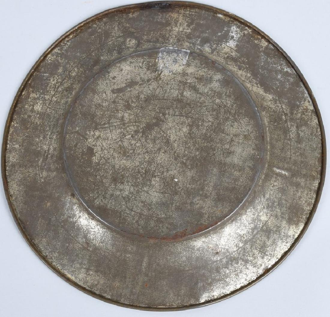 EARLY ABC PLATE, SANDPAIL, & MORE - 8