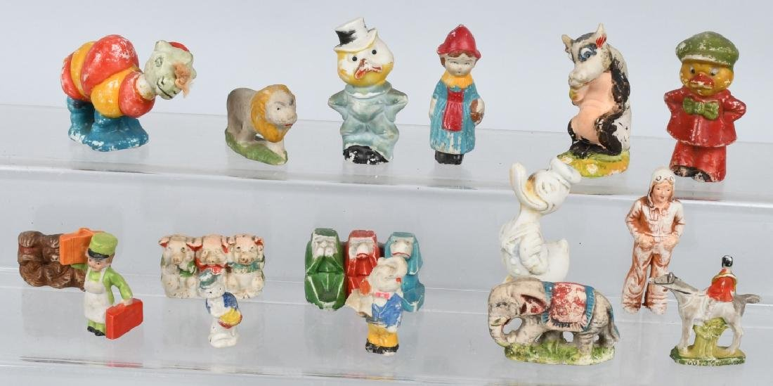 LARGE LOT OF BISQUE FIGURES