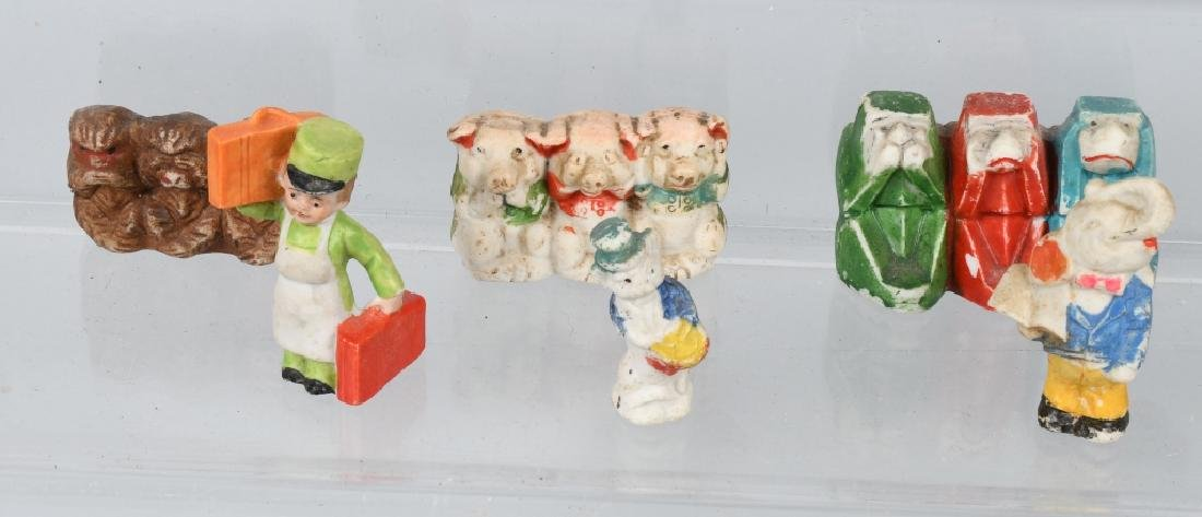 LARGE LOT OF BISQUE FIGURES - 3