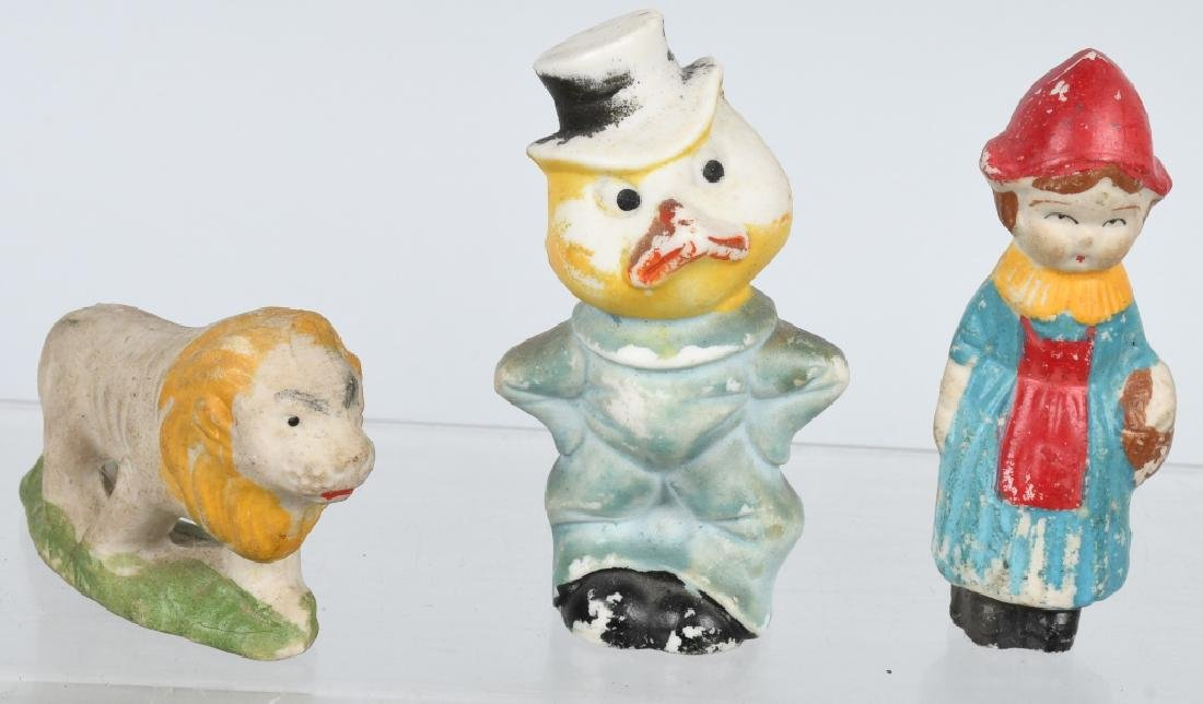 LARGE LOT OF BISQUE FIGURES - 4
