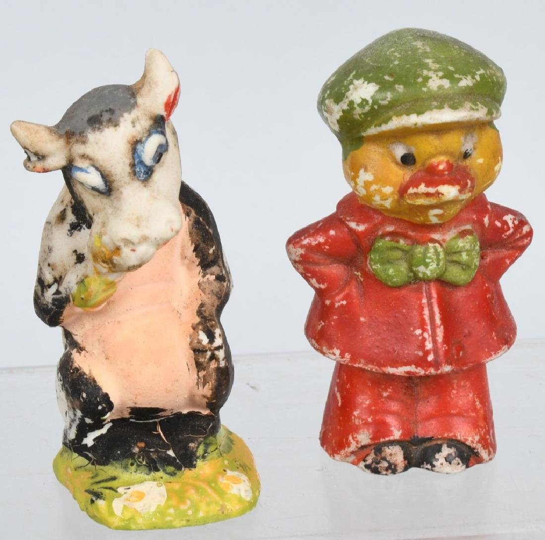LARGE LOT OF BISQUE FIGURES - 5