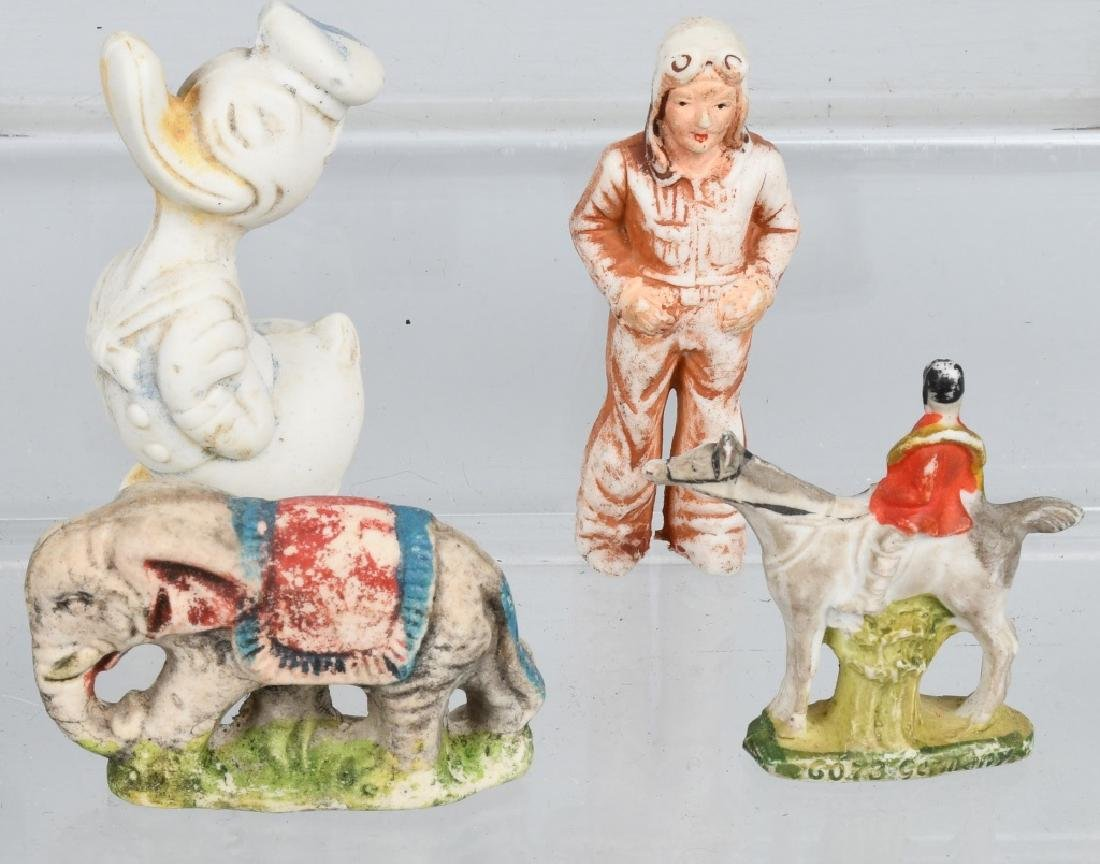 LARGE LOT OF BISQUE FIGURES - 6