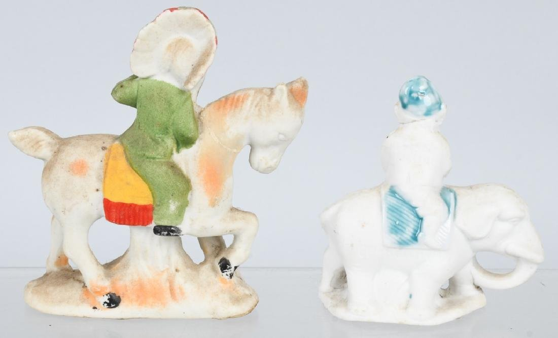 4- LARGE BISQUE FIGURES INDIAN, BEARS, & MORE - 5