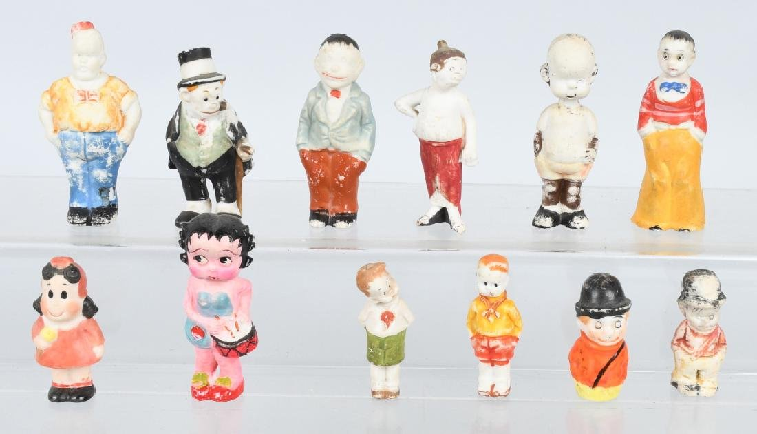 HUGE LOT OF CHARACTER BISQUES