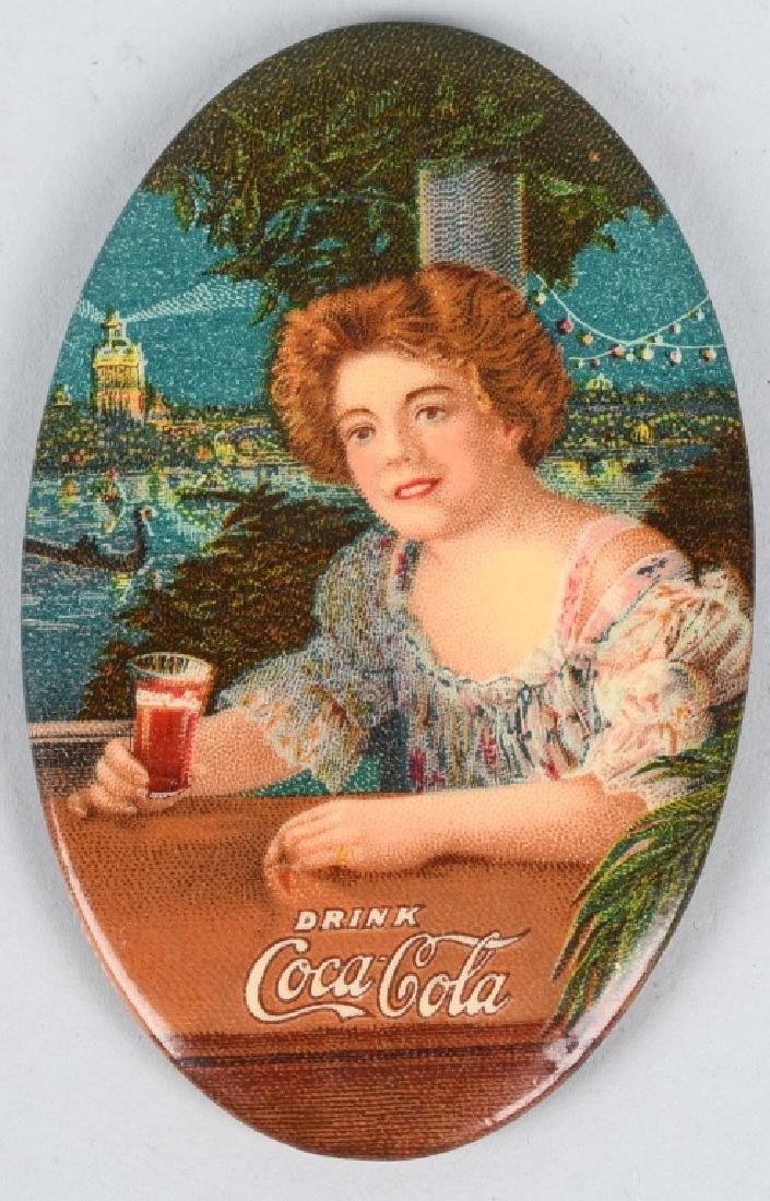 1909 COCA COLA POCKET MIRROR